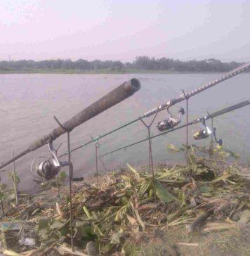 Fishing in the Bangshi River